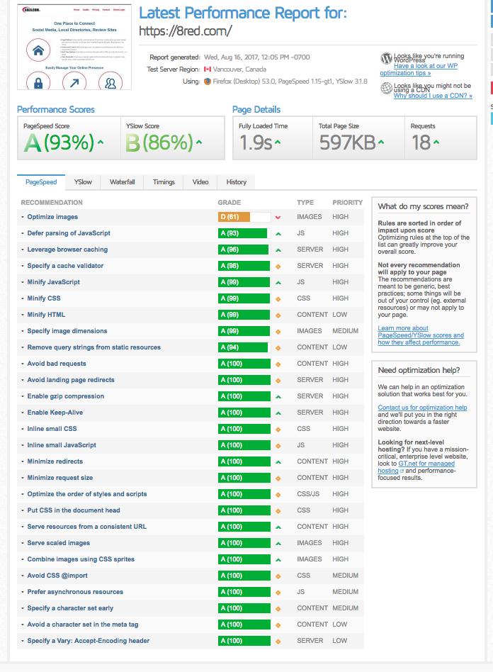 WordPress Site Performance, Plugins, etc., , , Blog